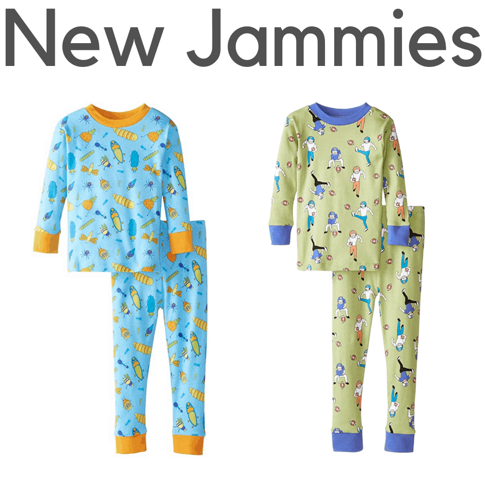 New Jammies Organic Boys Pajamas