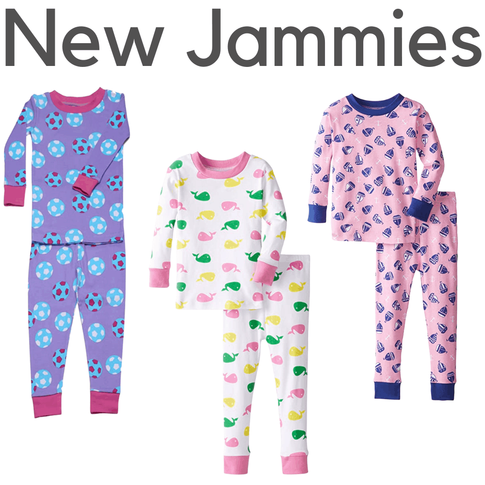 New Jammies Organic Girls Pajamas
