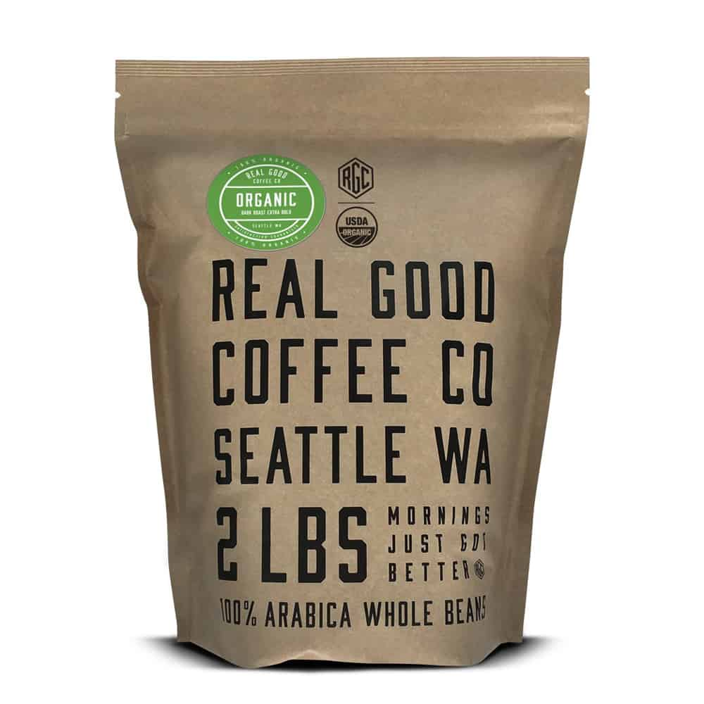 Real Good Coffee Co Organic Coffee
