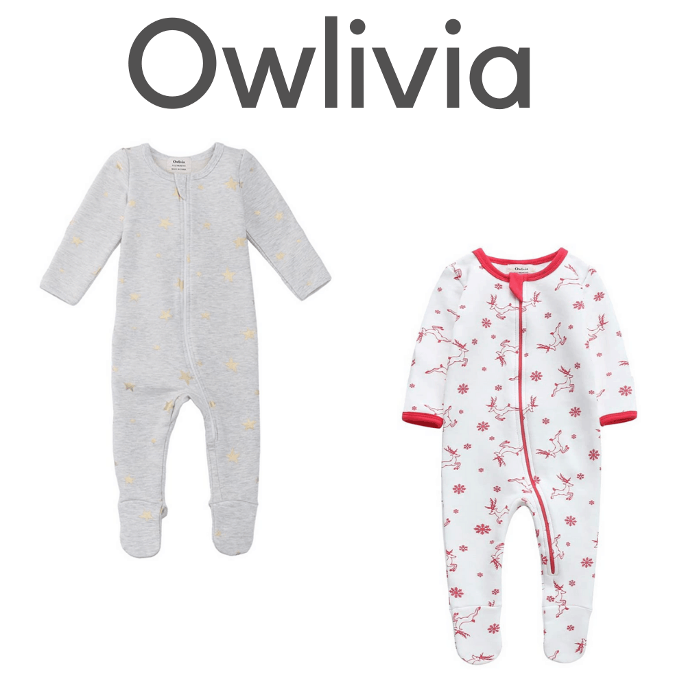 Owlivia Organic Footed Pajamas