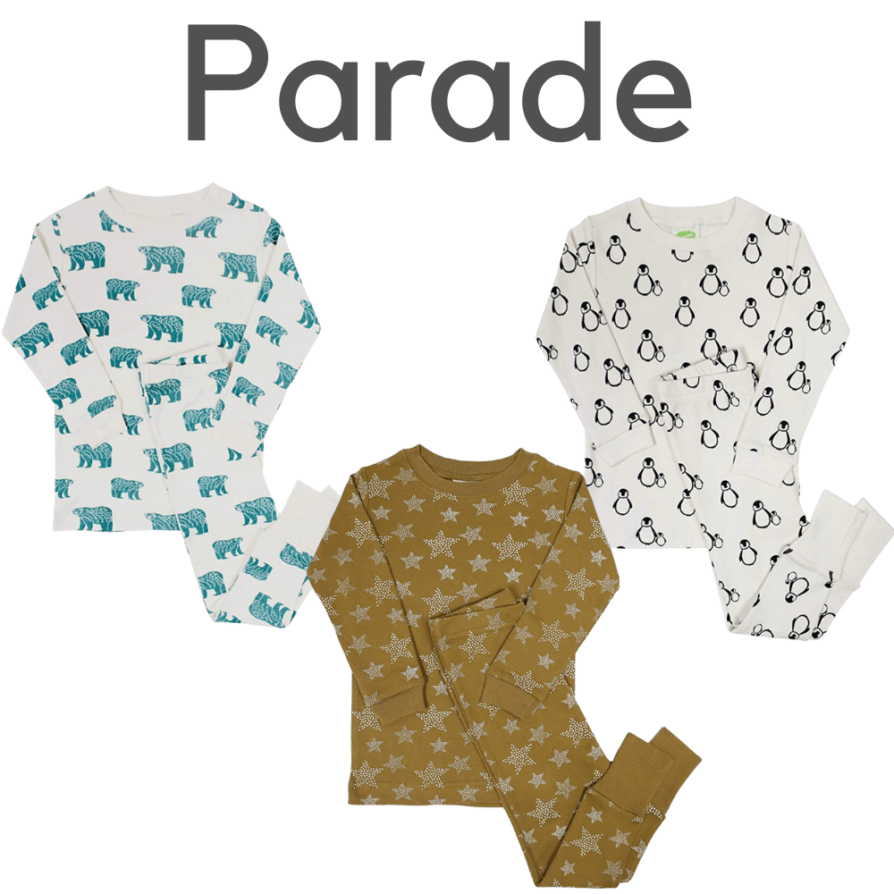 Parade Organic Kids Pajamas