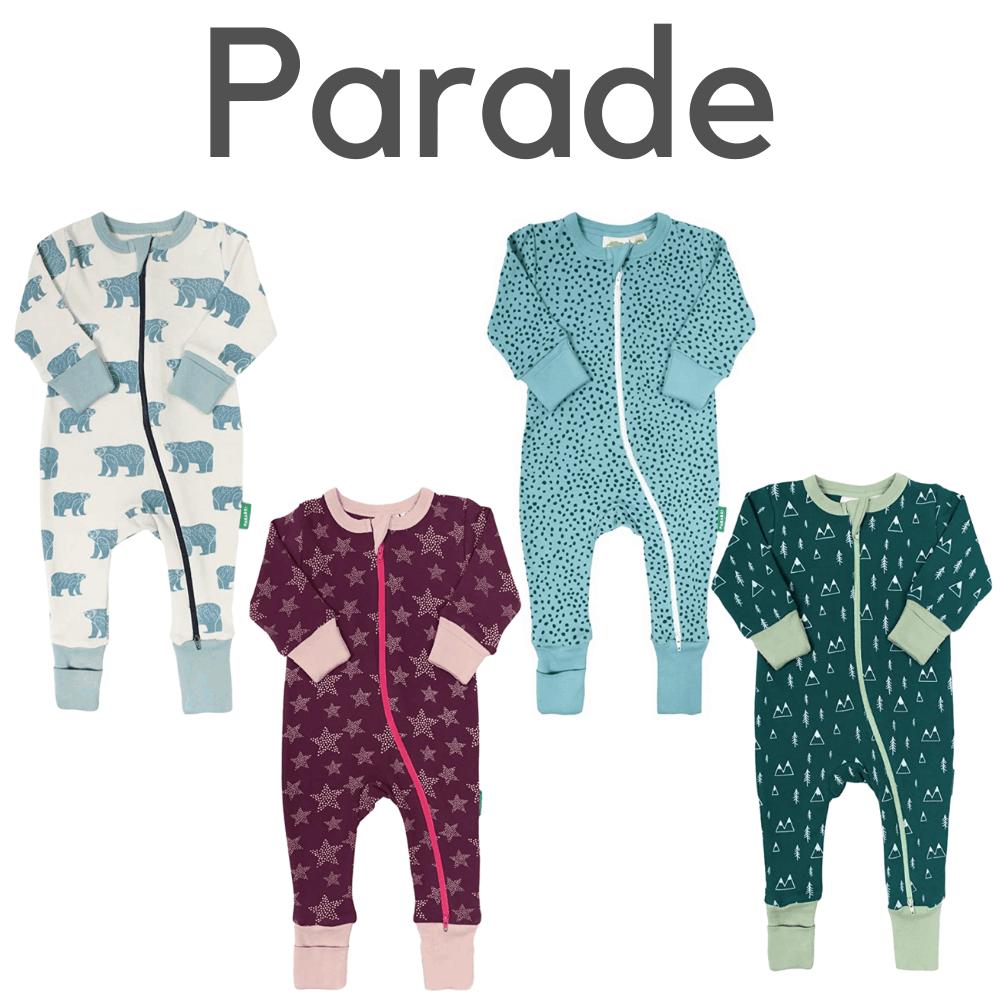 Parade Organic Romper Pajamas