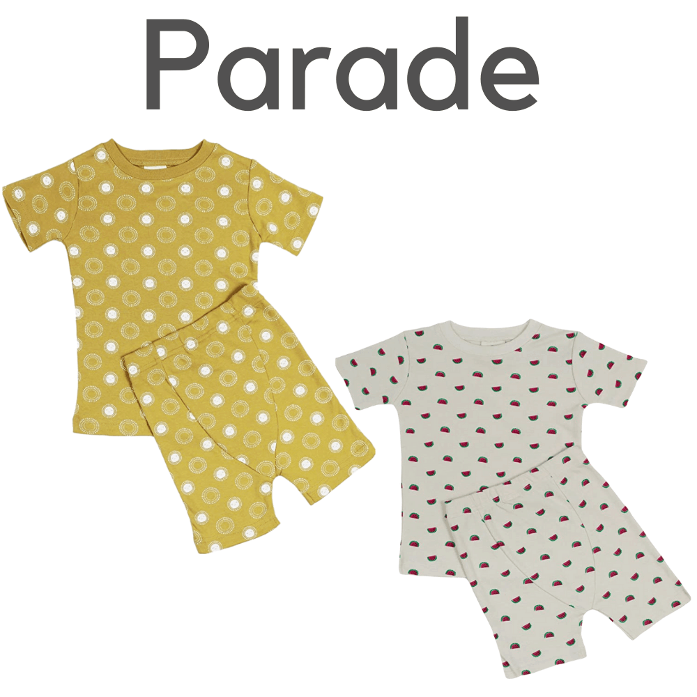 Parade Organic Short Sleeve Pajamas