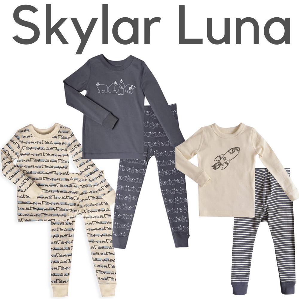 Skylar Luna Organic Boys Pajamas