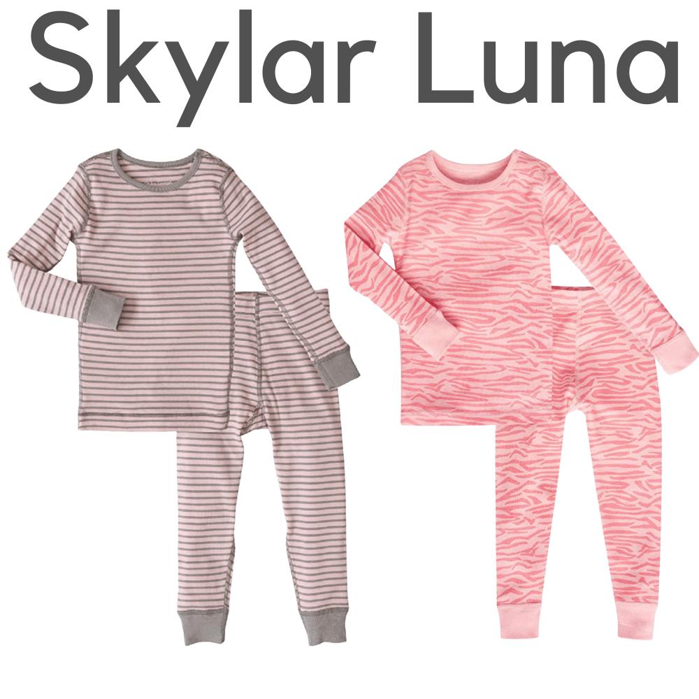 Skylar Luna Organic Girls Pajamas