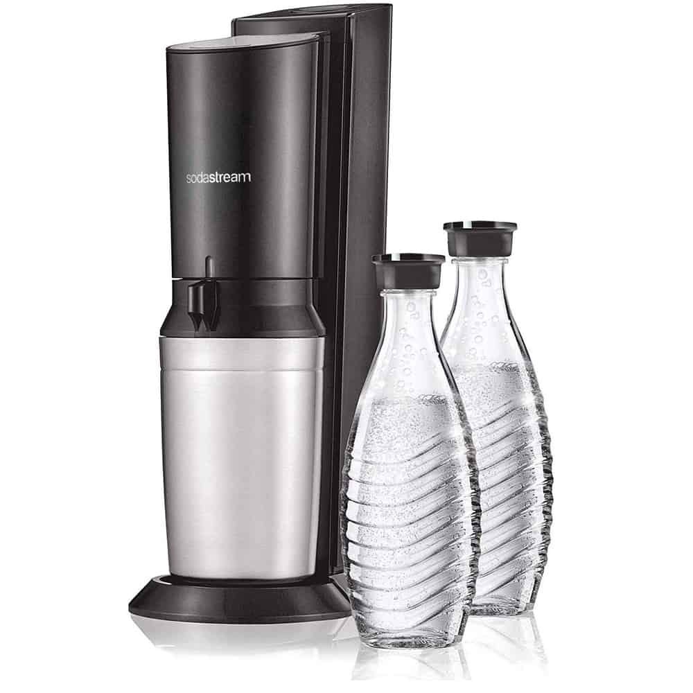 Soda Stream With Glass Carafe