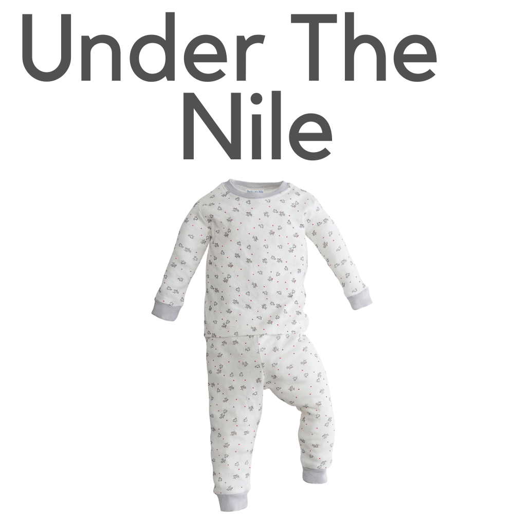 Under The Nile Organic Bird Pajamas