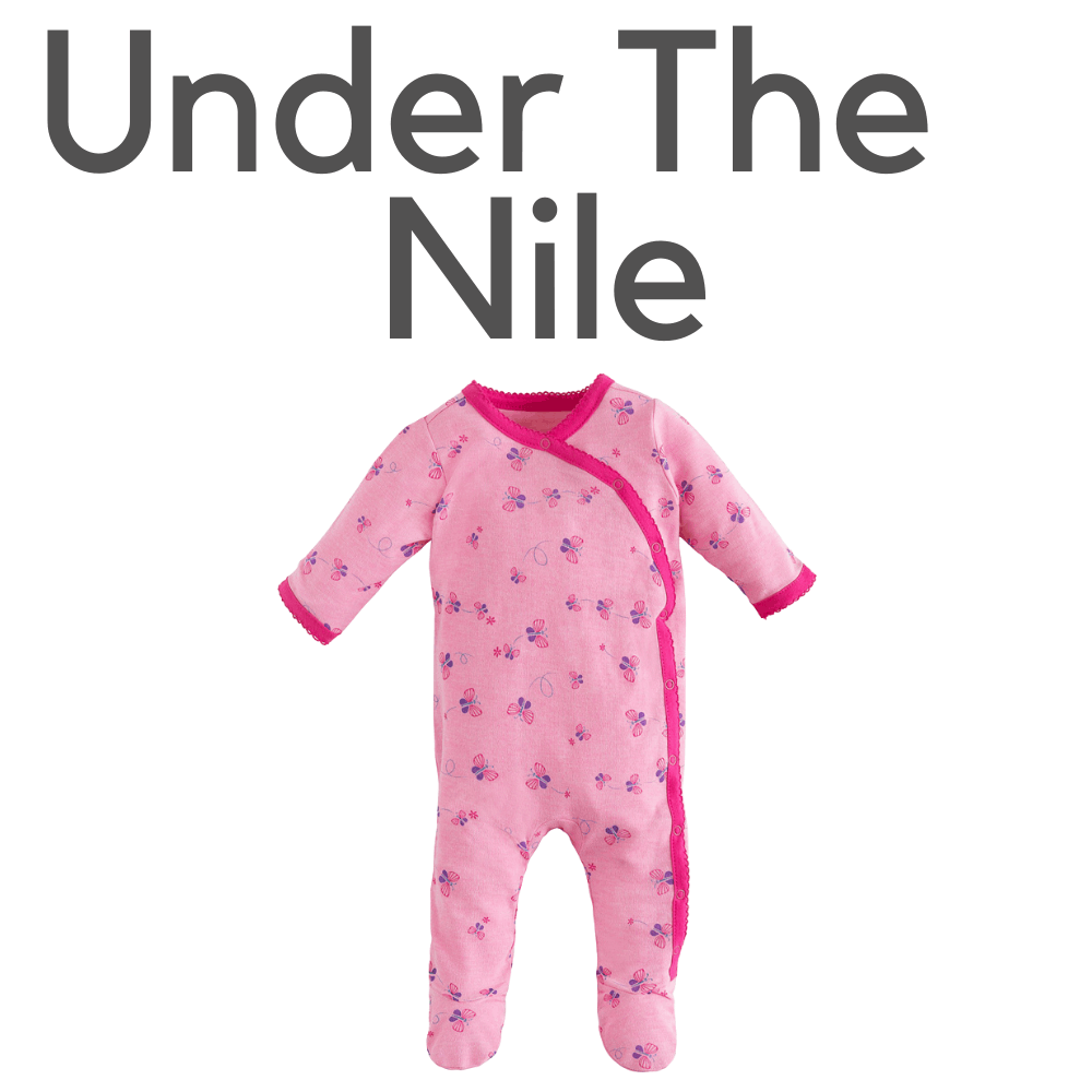 Under The Nile Organic Butterfly Pajamas