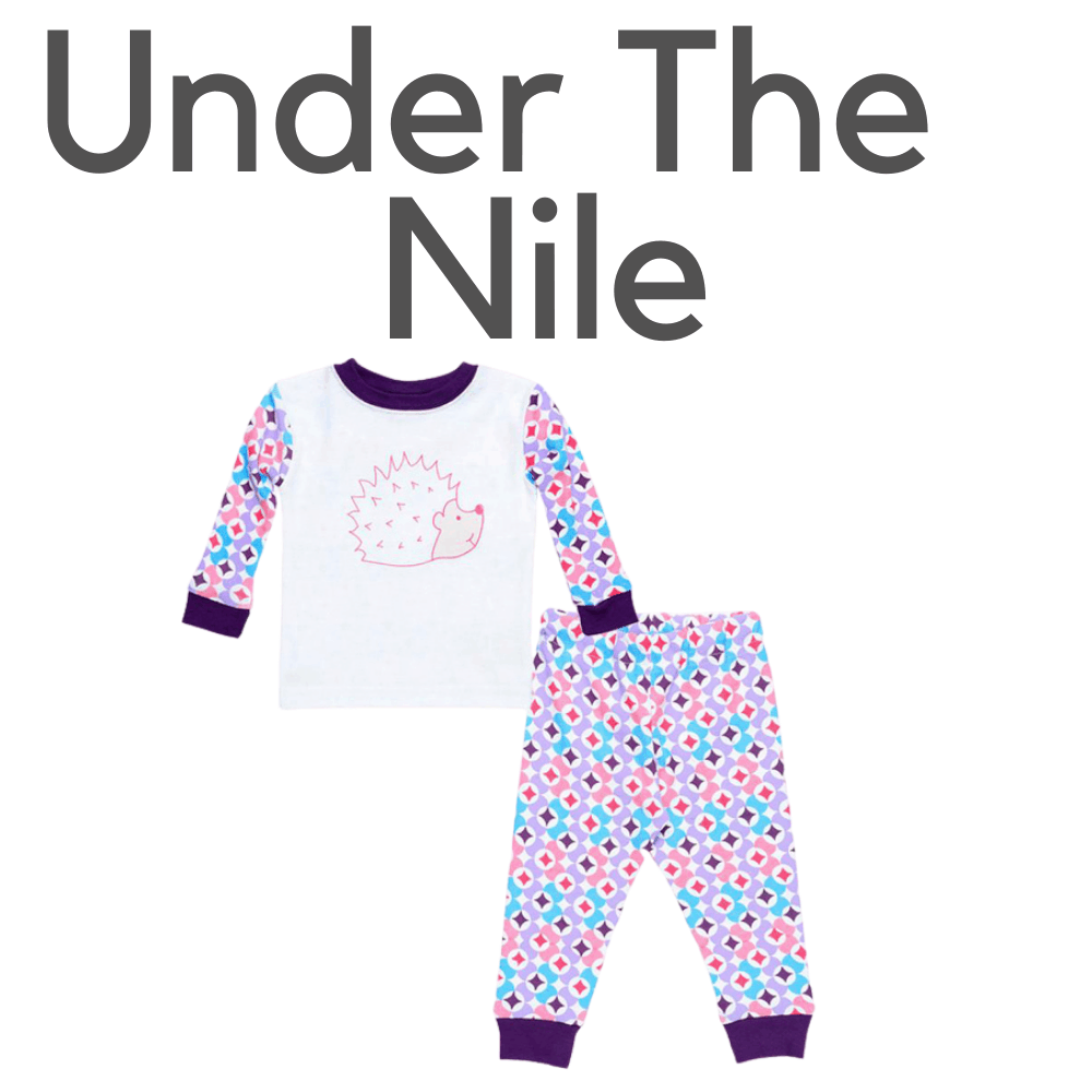 Under The Nile Organic Hedgehog Pajamas