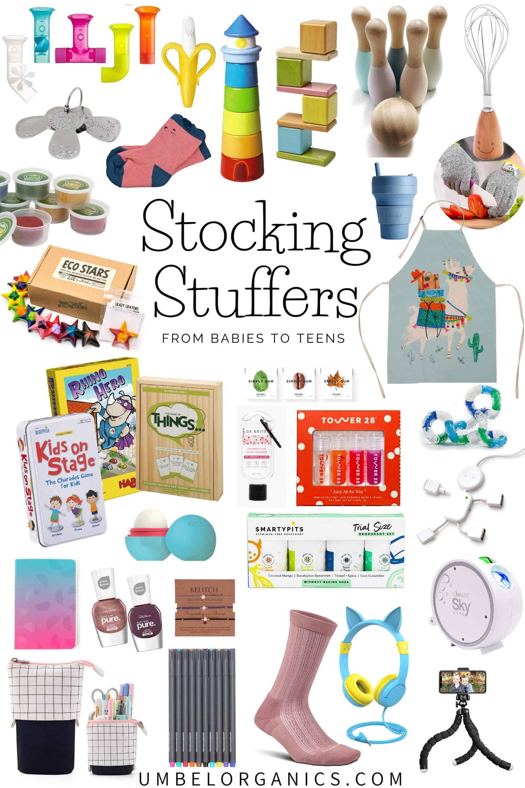 Stocking Stuffers for Babies, Kids & Teens