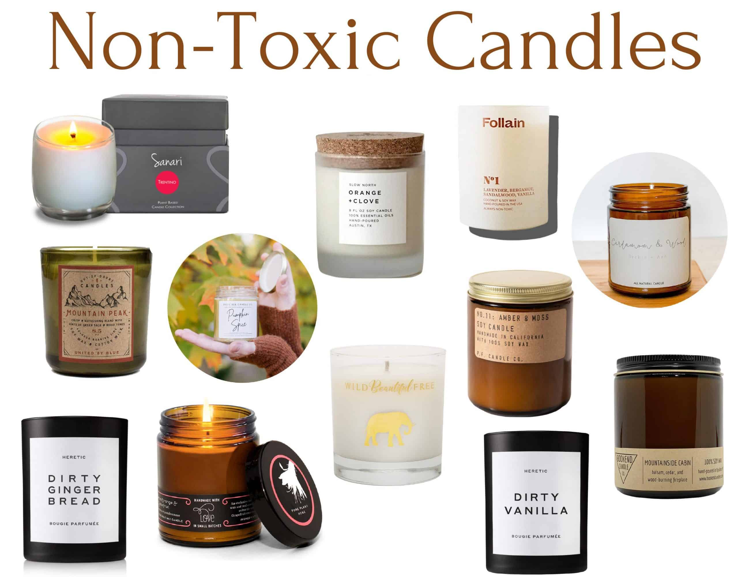 12 Brands of Non-Toxic Candles