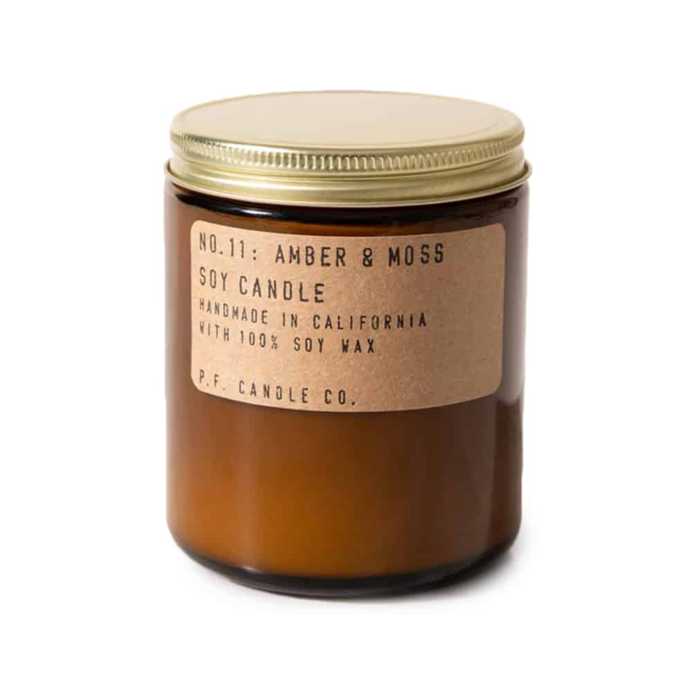 P.F. Candle Co. Amber & Moss