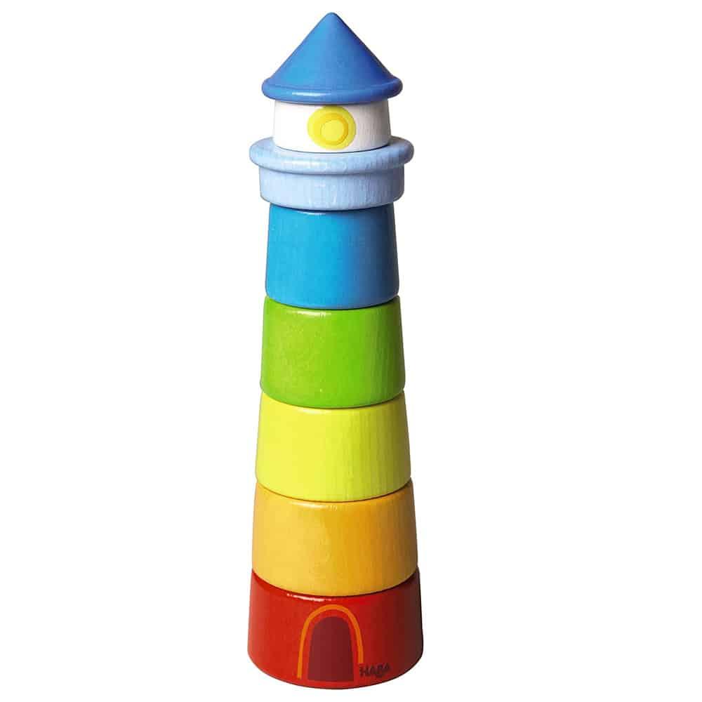 Haba Wood Lighthouse Stacking Toy