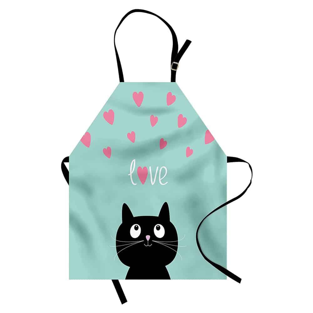 Cat love apron