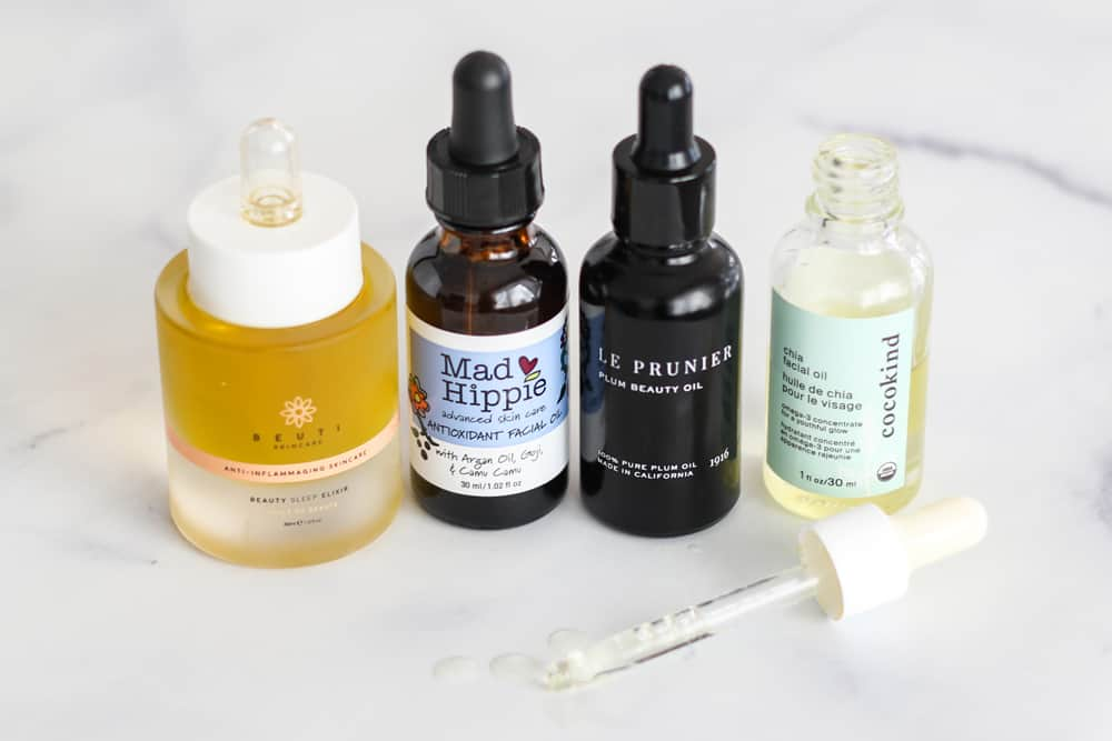 4 brands of Clean Face Oil For Sensitive Skin