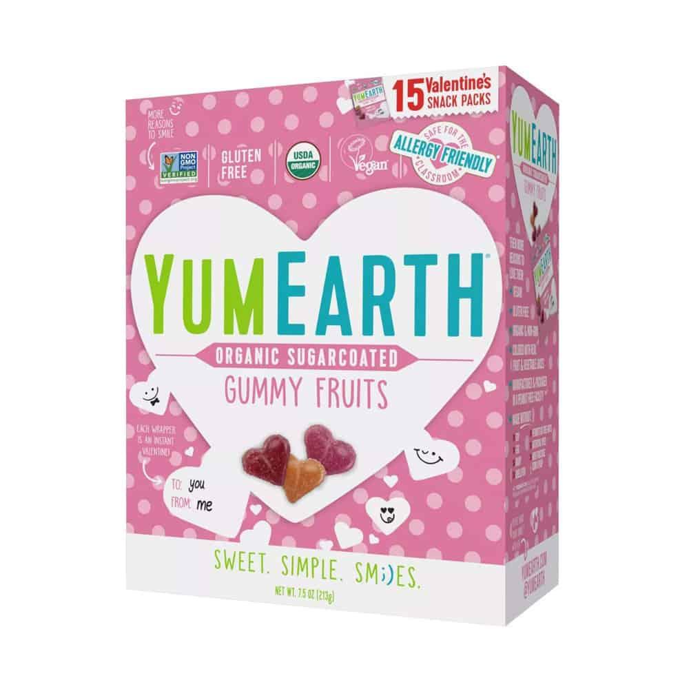 Yum Earth Heart Gummies