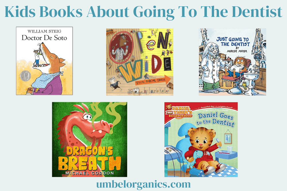 5 Kids books about going to the dentist