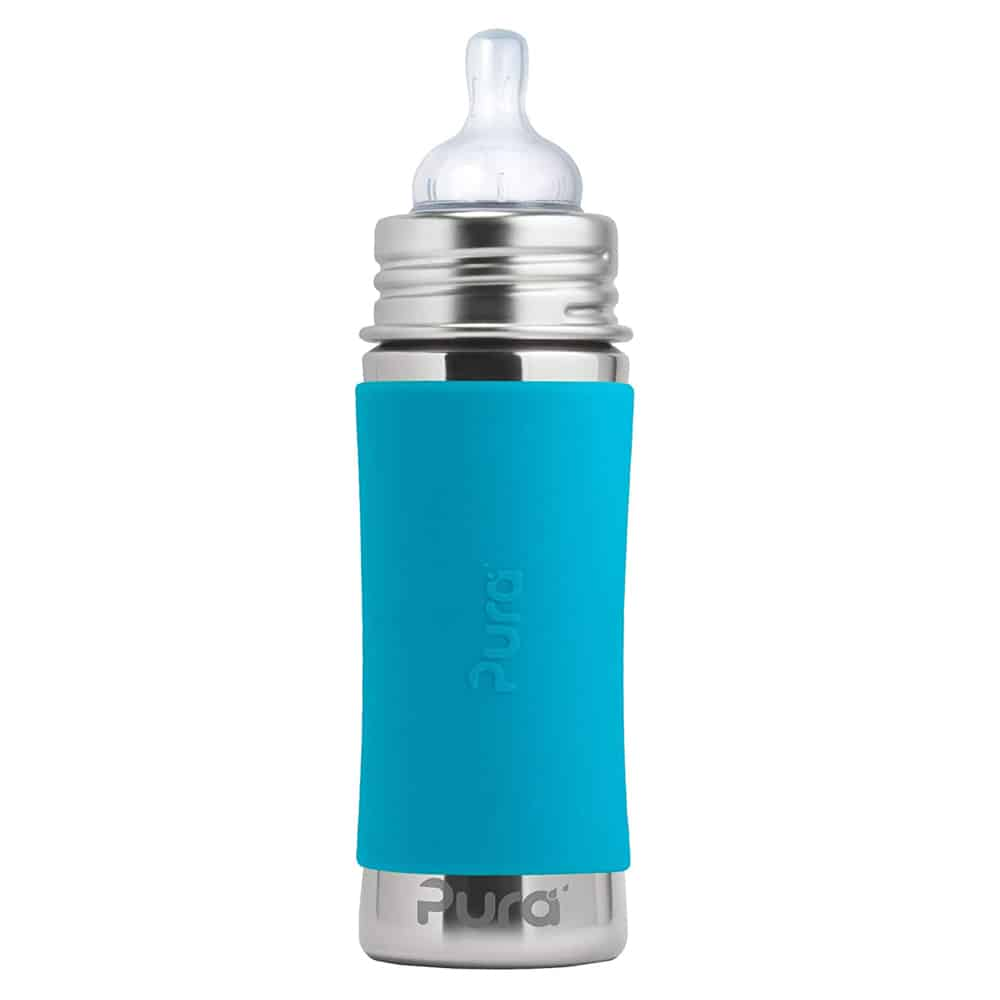 Pura Vida Stainless Steel Baby Bottle