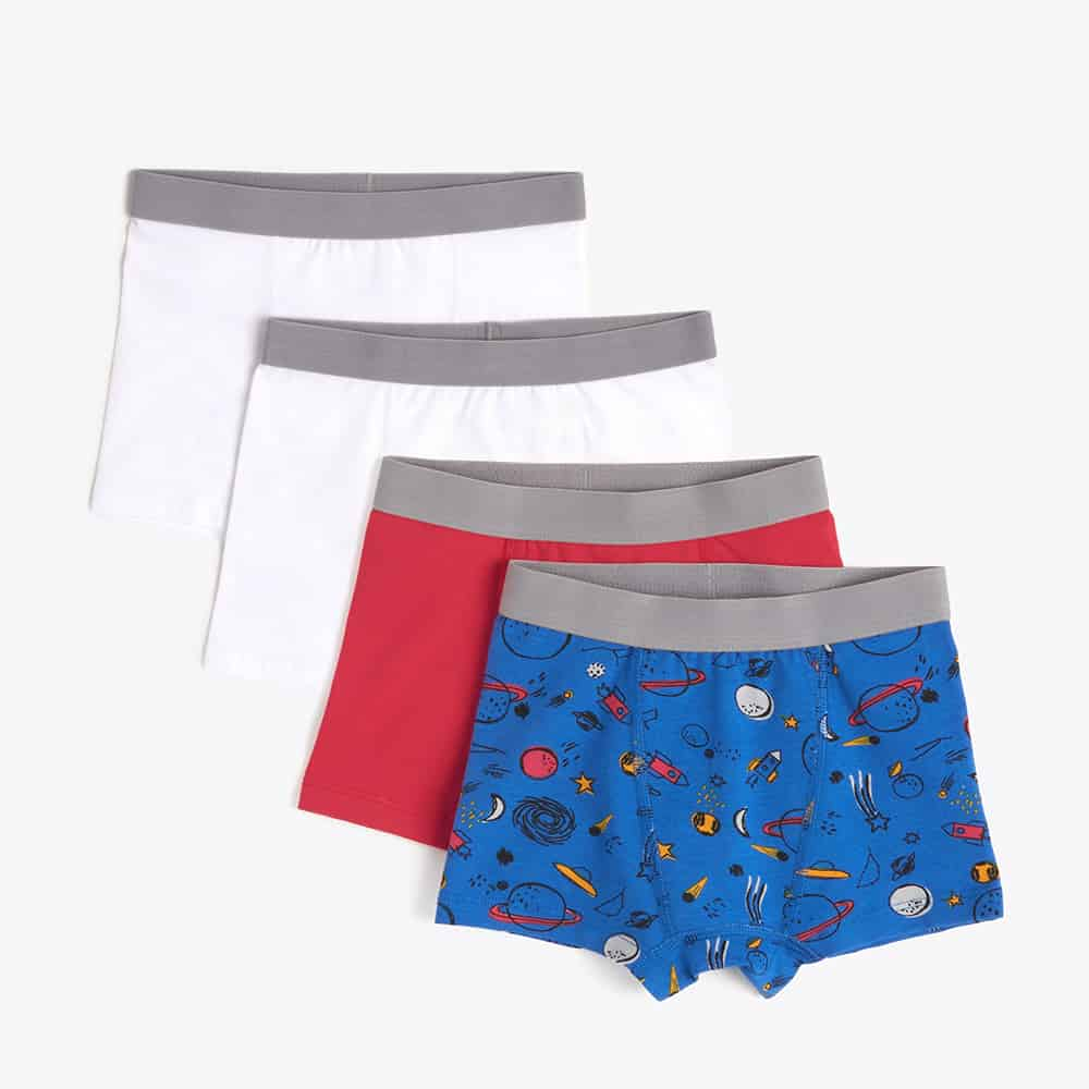 Pact Organic Boys Boxer Briefs