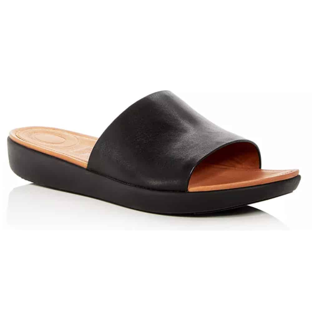 Fit Flop Leather Slides