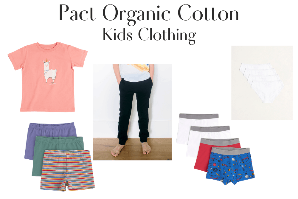 Pact Organic Cotton Kids Clothing