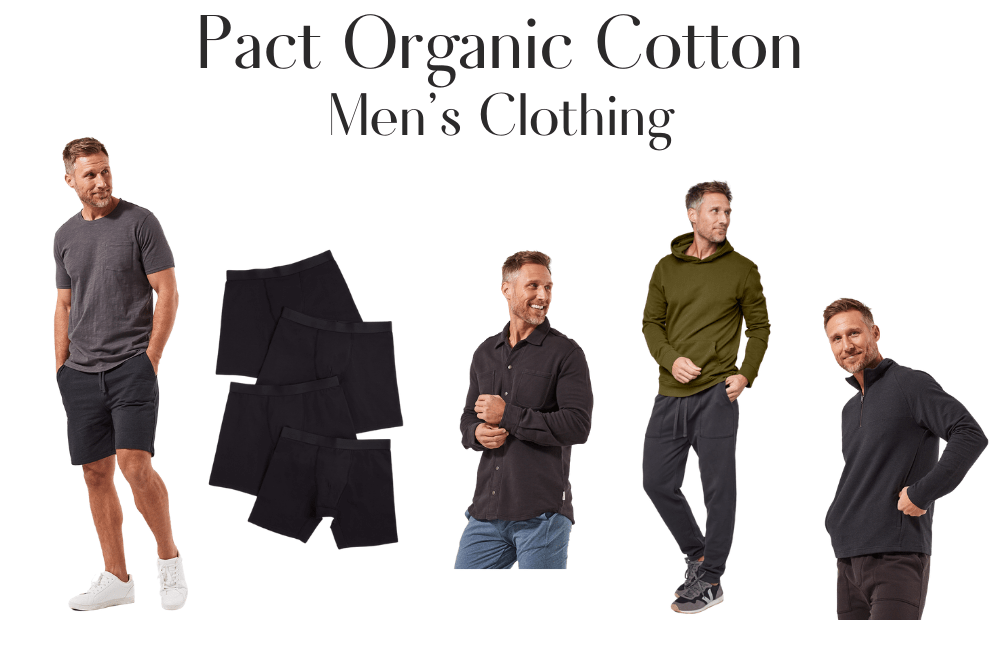 Pact Organic Cotton Men's Clothing