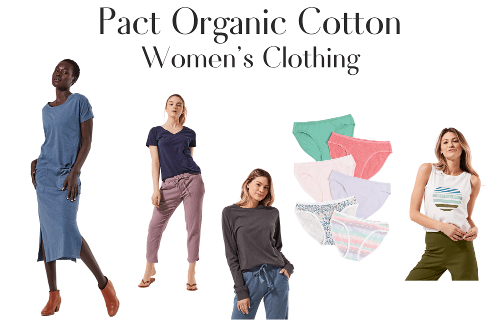 Pact Organic Cotton Women's Clothing