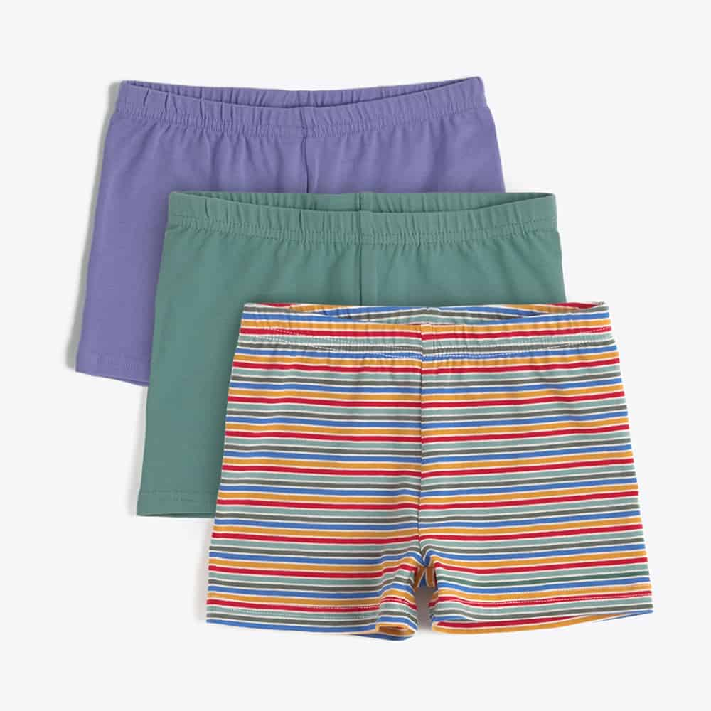Pact Kids Organic Cotton Somersault Shorts