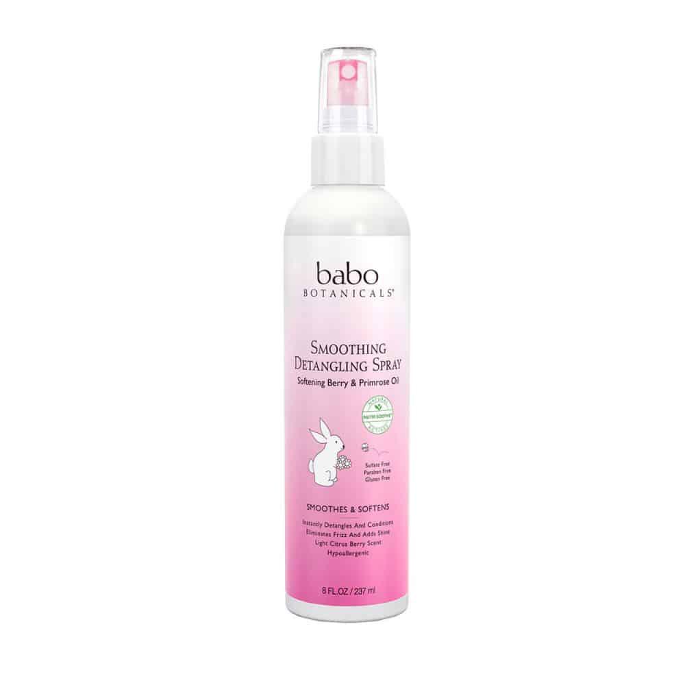 Babo Botanicals Smoothing Detangling Spray