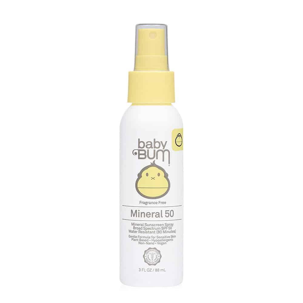 Baby Bum Mineral Sunscreen Spray SPF50