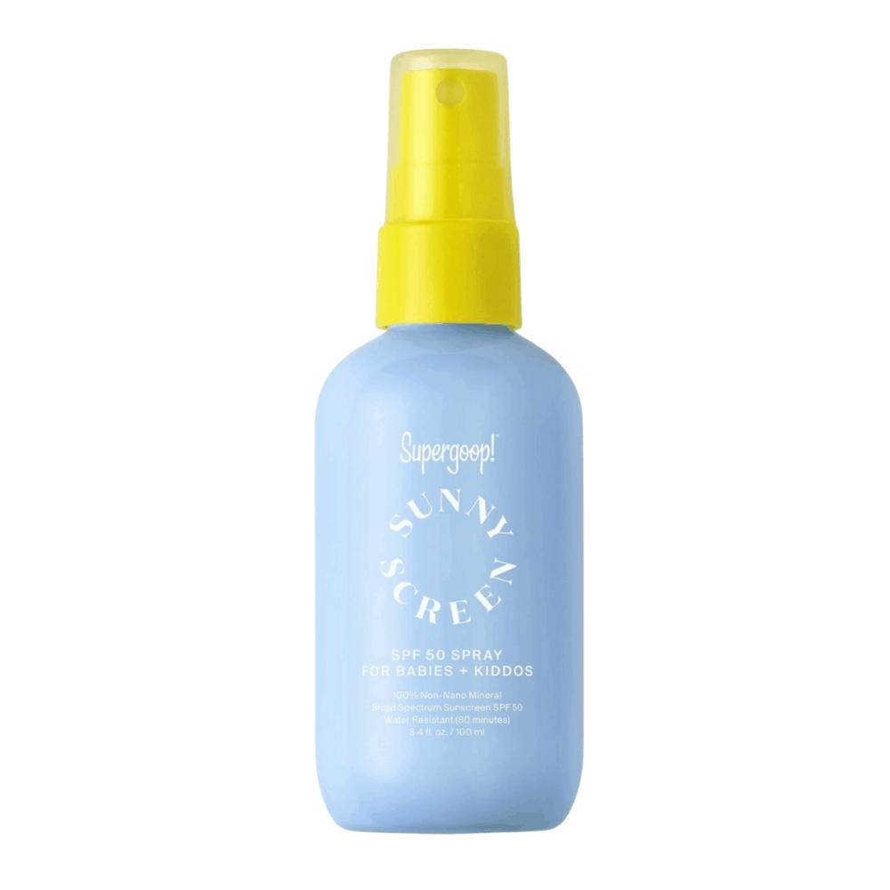 Supergoop Sunny Screen Pump Spray Sunscreen SPF50