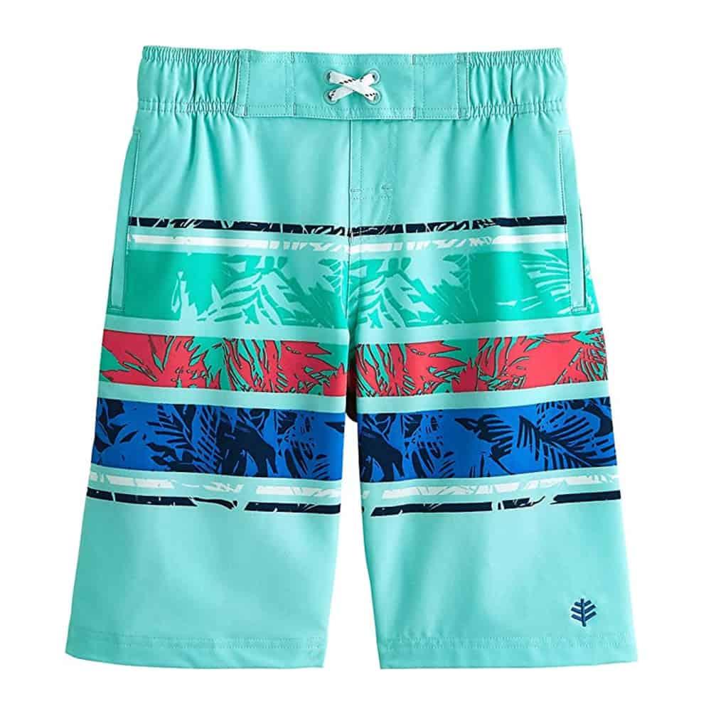 Coolibar UPF50+ Boys Swim Shorts