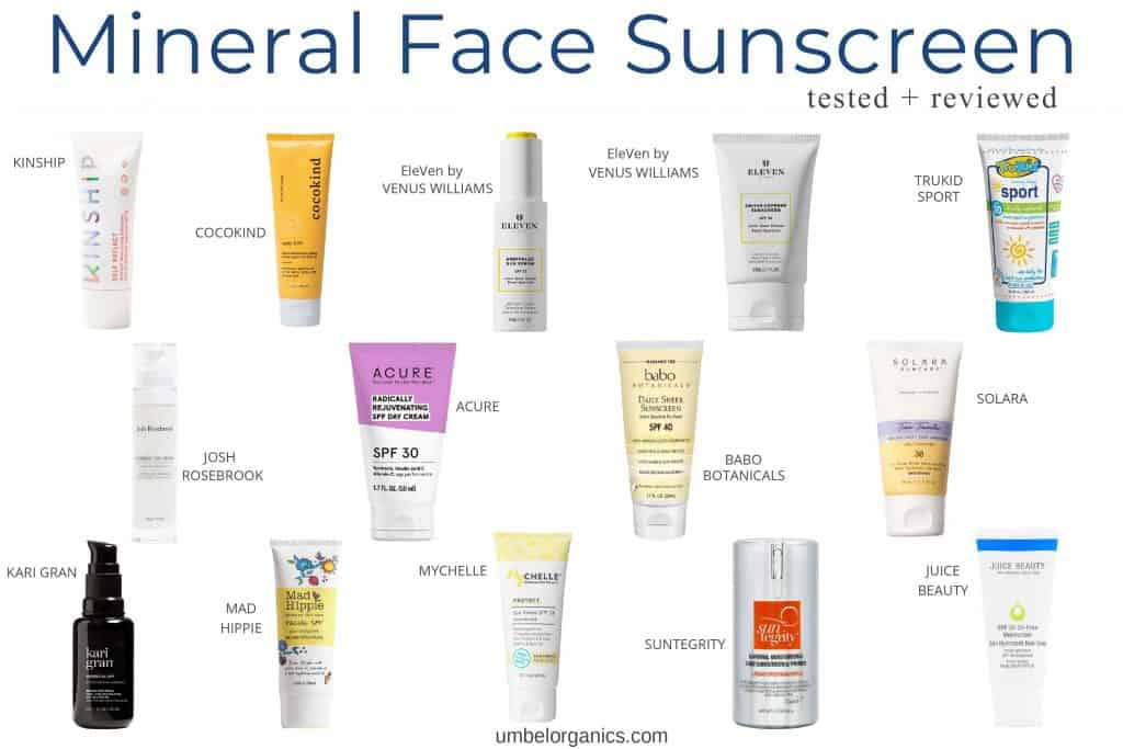 14 brands of mineral sunscreen that I tested