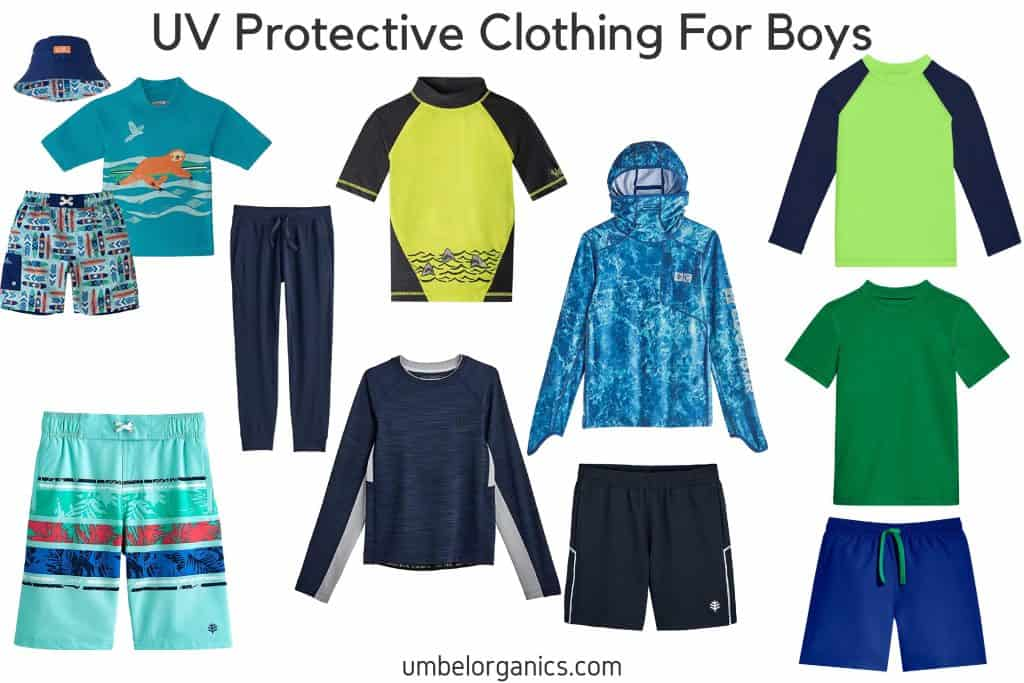UV Protective Clothing For Boys