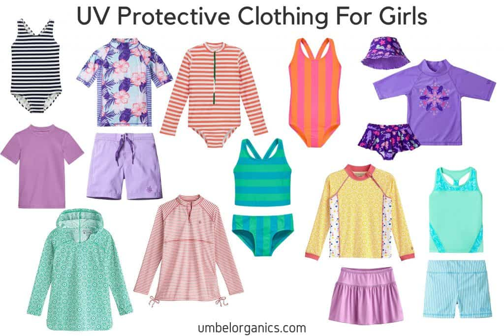 UV Protective Clothing For Girls