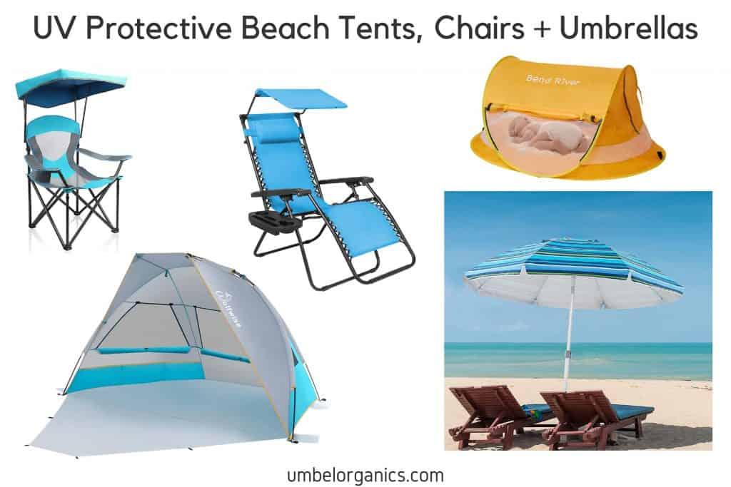 UV Protective Beach Tents, Chairs & Umbrellas