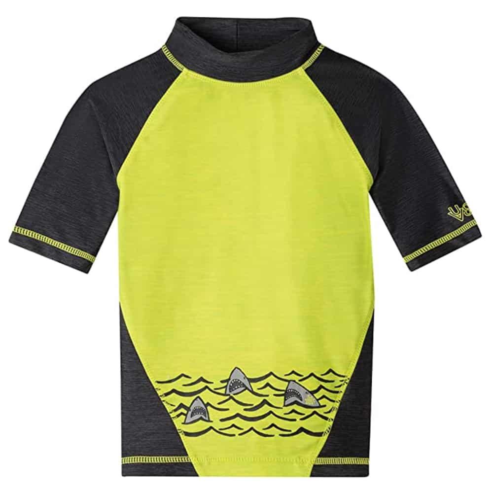 UV Skinz UPF50+ Boys Short Sleeve Rash Guard
