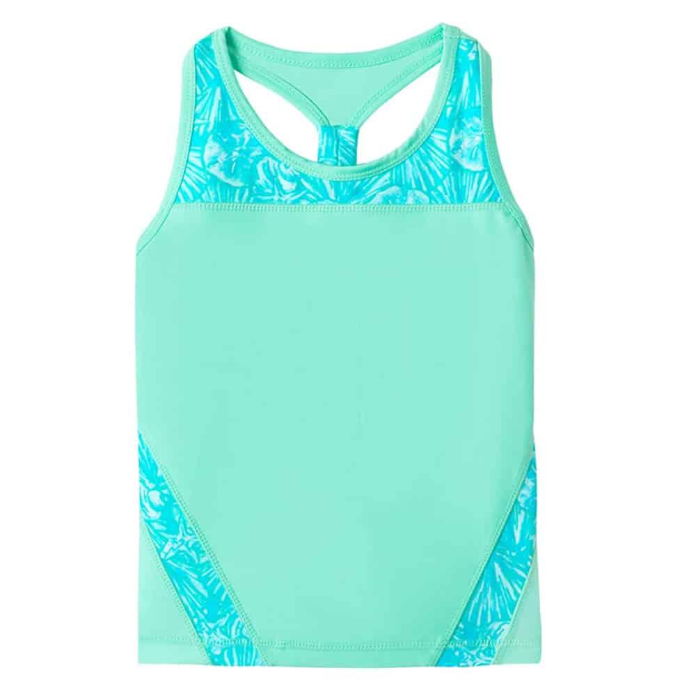 UV Skinz UPF50+ Girls Racerback Swim Tank