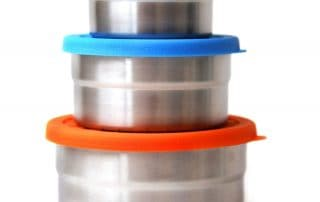 Ecolunchbox Stainless Steel Snack Containers