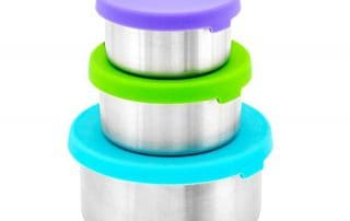 Weesprout Stainless Steel Snack Containers