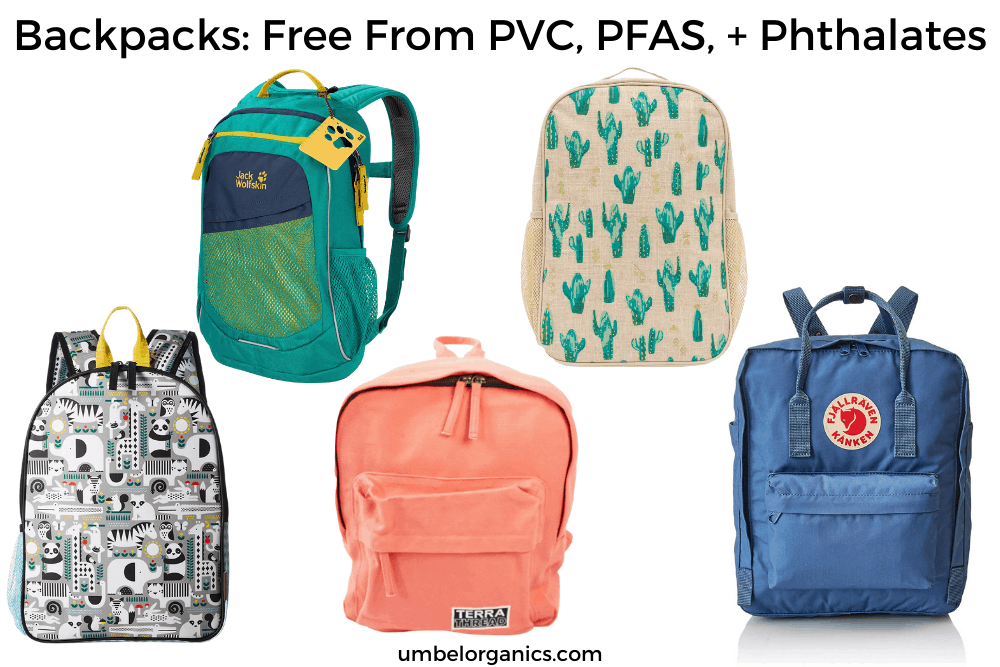 Non-Toxic Backpacks For School- Free from PVC, Phthalates, and PFAS