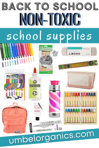 non-toxic and eco-friendly school supplies