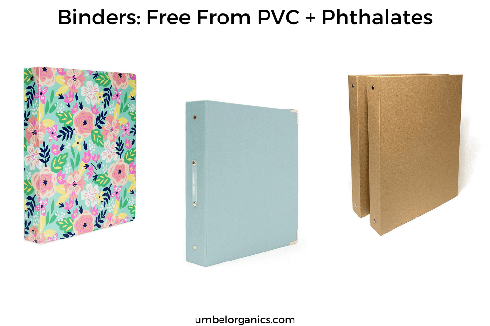Non-toxic Binders For School: Free from PVC and Phthalates