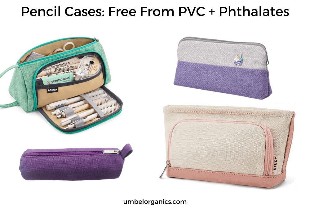 Non-Toxic Pencil Cases For School: Free From PVC and Phthtalates