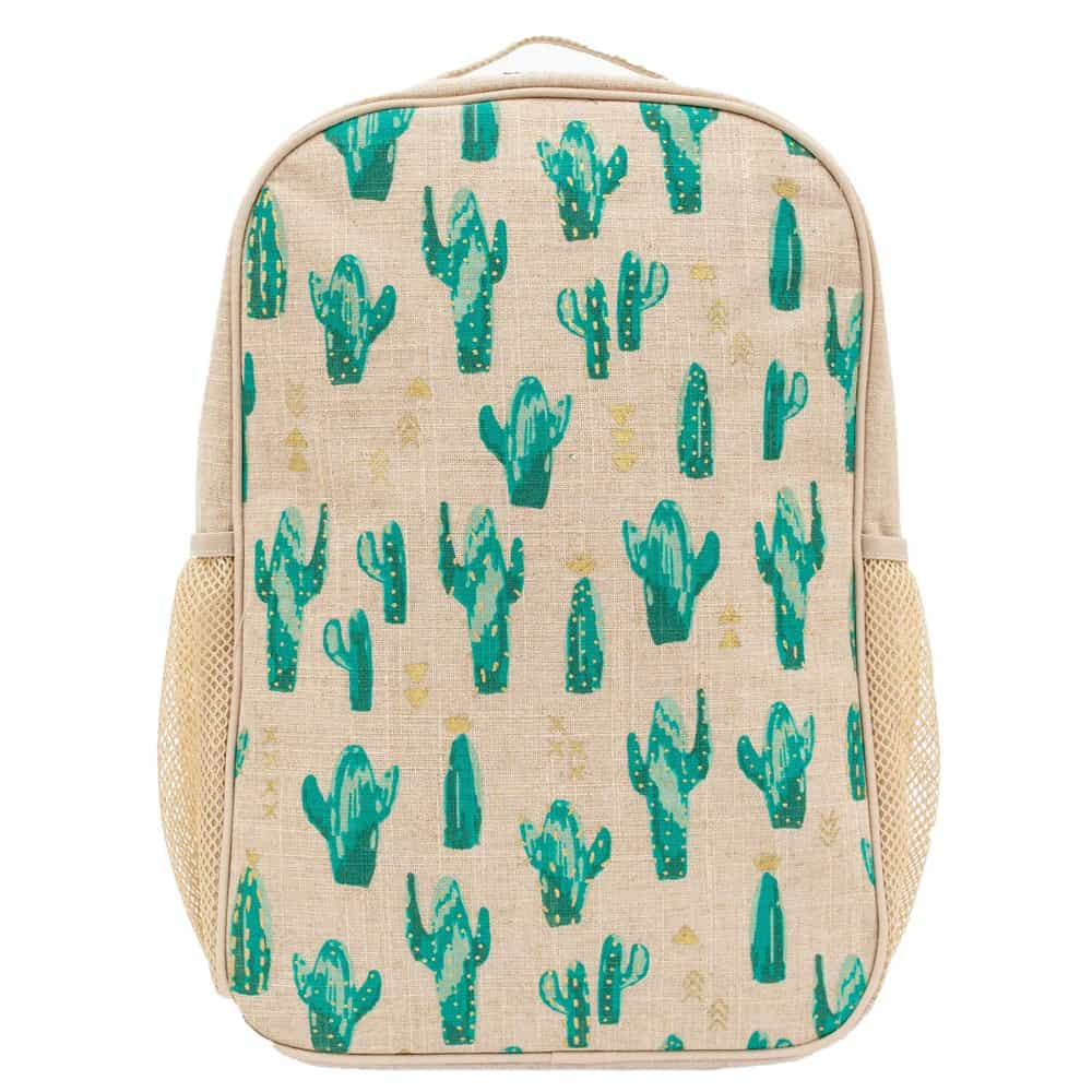 SoYoung Backpack with cactus plants