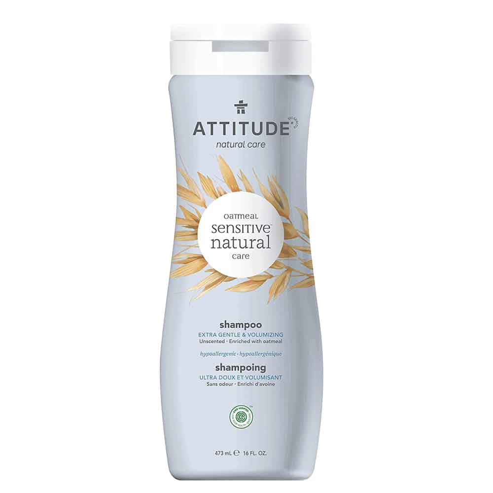 Attitude Unscented Sensitive Skin Shampoo
