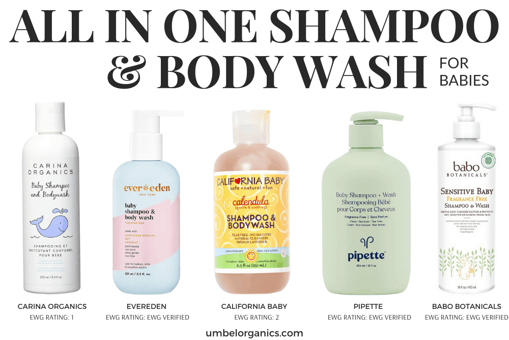 Non-Toxic All-In-One Shampoo & Bodywash For Babies