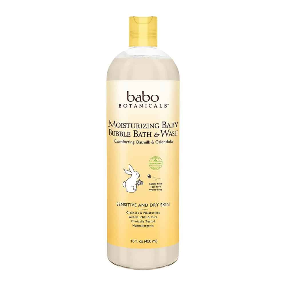 Babo Botanicals Moisturizing Baby Bubble Bath