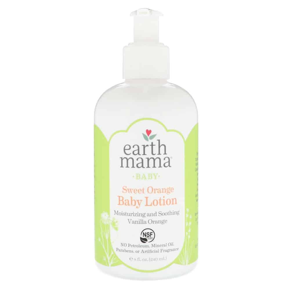 Earth Mama Baby Lotion