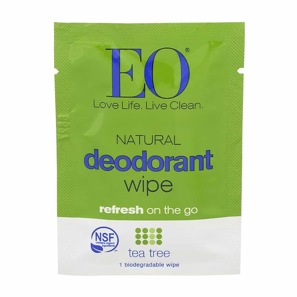 EO Natural Deodorant Wipes